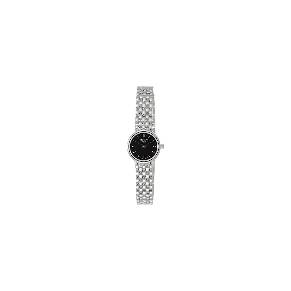 41P3tmxR4JL. SS1200  - Tissot Lovely T0580091105100 - Reloj de Mujer de Cuarzo, Correa de Acero Inoxidable Color Plata