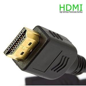 Cable HDMI Full HD 10m geschirmt mit vergoldete Kontakte für TV, Display, Konsolen (PS4, PS3, Xbox, 360…)