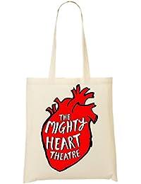 The Mighty Heart Theater Bolso De Mano Bolsa De La Compra