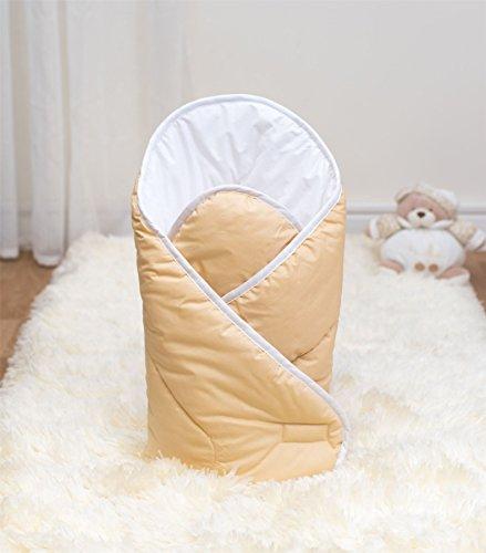 Luxus Comfort Wickeltuch Decke 100% Baumwolle Mond und Stern pink