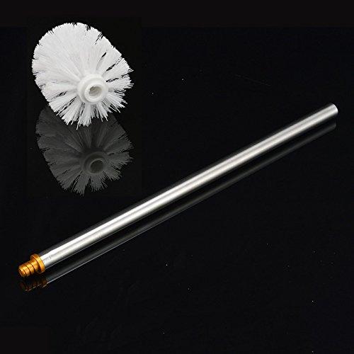 ZHFC brosse - brosse tête démanteler 3 remplacer en acier inoxydable ou en l'espace de tête aluminium general fil mince brosse gérer,1 350 mm de brosses en blanc