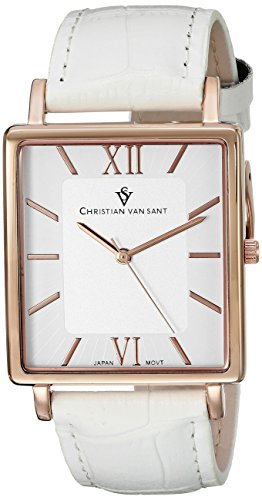 christian-van-sant-homme-bracelet-cuir-blanc-boitier-acier-inoxydable-quartz-analogique-montre-cv851