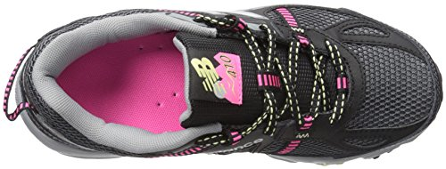 New Balance Women's WT410V4 Trail Shoe Black/pink