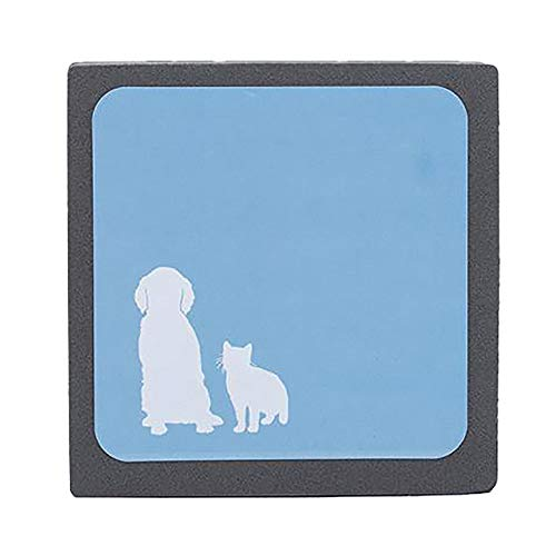 Roblue Aspirador Pelo de Animales Cepillo Cabello Reutilizable Anti Pelusa Perro Gato Ideal Muebles Color Aleatorio
