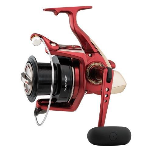 Daiwa emcs5000a Emcast Sport Test Meerwasser Spinning Fishing Reel, 14–20LB, Rot