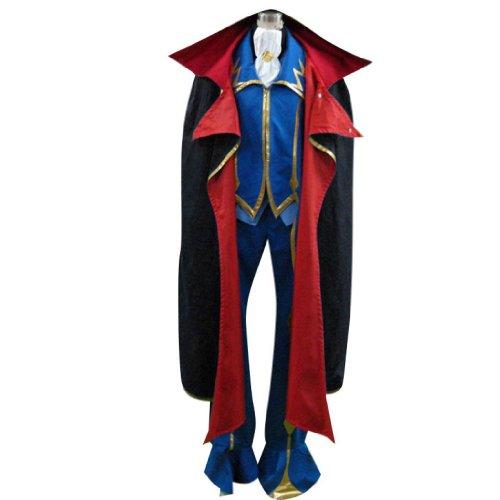 Kostüm Code Geass Zero - Dream2Reality japanische Anime Code Geass Lelouch of the Rebellion Cosplay Kostuem - ZERO 2nd Ver Kid Size Large