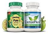 Garcinia Cambogia 100% Pure 90 Kapseln + Detox Plus Colon Cleanse 90 Kapseln