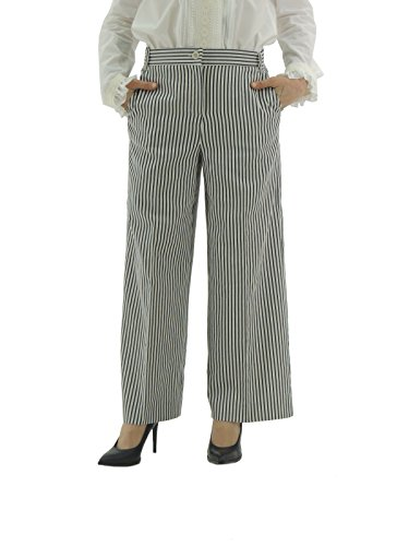 maxmara-weekend-osaka-pantaloni-donna-chino-comodi-cotone-a-righe-made-in-italy-it42-blu-marine