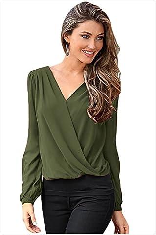 MEINICE - Sweat à capuche - Femme - Vert - M