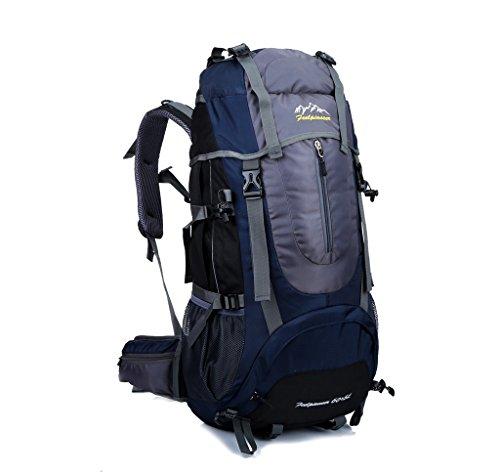 Imagen de skysper 65l  multifuncional de senderismo trekking  nylon impermeable morral que acampa  viaje al aire libre