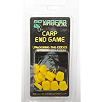 Advanced Angling Solutions Ltd Artificial Corn Stops - Yellow 12 pieces Imitation Corn Carp Bait For Carp Fishing Rigs