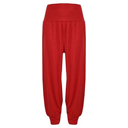 A2Z 4 Kids® Kinder Mädchen Ali Baba Stil Einfach - Ali Baba Trouser Red 9-10