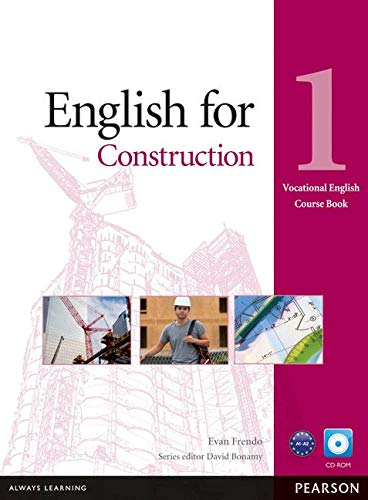 English for Construction Level 1 Coursebook and CD-ROM Pack (Vocational English Course Book)