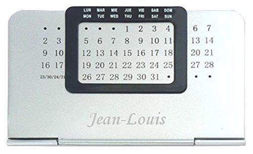 Agenda perpétuel avec le prénom: Jean-Louis (Noms/Prénoms)