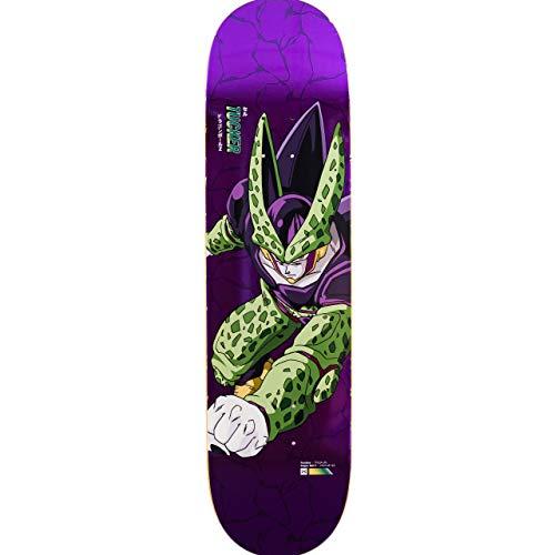 Primitive DBZ Tucker Perfect Cell 8.25 Inch Skateboard Deck 8.25 inch Purple (Skateboards-deck Primitive)