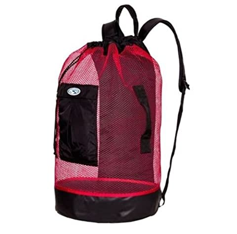 Stahlsac Panama Mesh Backpack Red