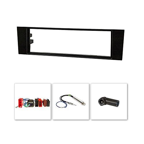 LED façade d'autoradio pour audi a3 8P et a3 sportback 8Pa) (noir)