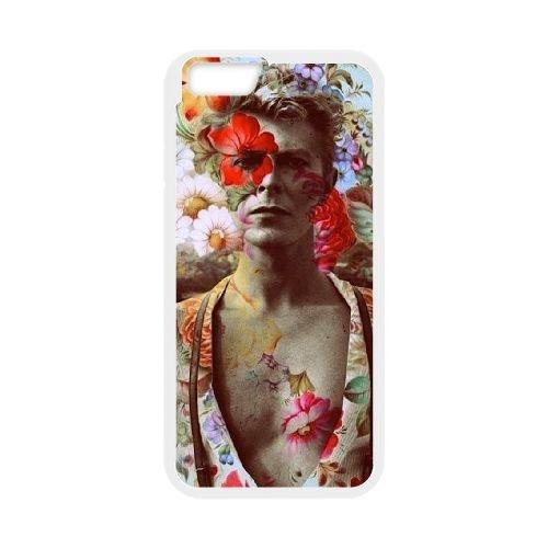 David Bowie coque iPhone 6 Plus 5.5 Inch Housse Blanc téléphone portable couverture de cas coque EBDXJKNBO13439