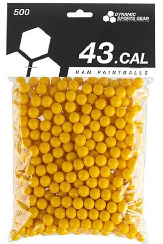 Dynamic Sports DSG RAM Paintballs Cal.43 100 Stück Gelb
