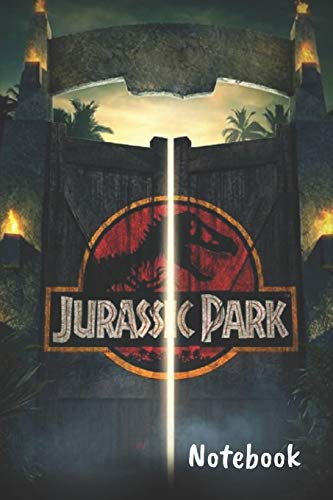"""Jurassic Park Notebook: Blank lined notebook, Journal Or a Diary To Write Down Ideas, Follow up, projects for women, men & children have Durable 6\"""" x 9\"""" inches 120 pages (lined notebook)"""