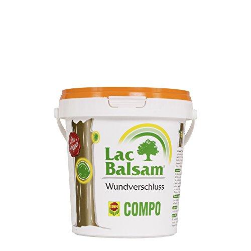 COMPO Lac Balsam, Wundverschlussmittel zur Behandlung an Zier- und Obstgehölzen, 1 kg