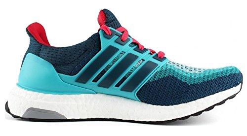 adidas Ultra Boost Jungen Laufschuhe Verde / Azul / Rojo (Vertra / Minera / Rojimp)