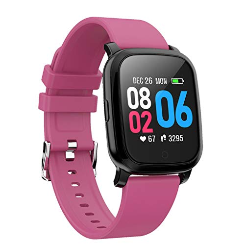 Huacat SmartWatch Fashion Smart Armband für Damen Fitness Tracker Farbbildschirm Herzfrequenz Messgerät Blutdruck Multifunktion Gebogener Bildschirm