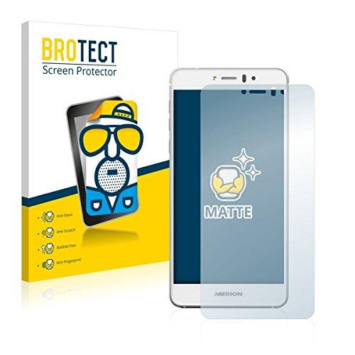 2X BROTECT Matt Bildschirmschutz Schutzfolie für Medion Life X5004 (MD 99238) (matt - entspiegelt, Kratzfest, schmutzabweisend)
