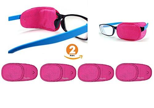 HAYATEC 4x Medizinische Brillenglasabdeckung für Kinderbrillen zum Behandeln von Sehschwächen...