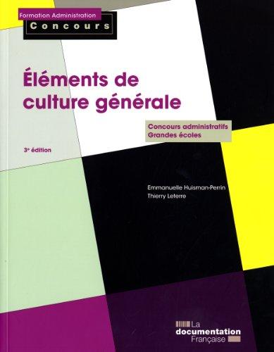 Eléments de culture générale - Edition 2010