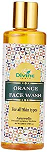 Divine India Orange Face Wash 200 Ml