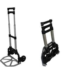 Alu Sackkarre klappbar 60 kg Transportkarre Stapelkarre Handkarre Karre leicht