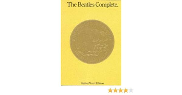 Amazon fr - Partition : Beatles Complete Guitar Luxe