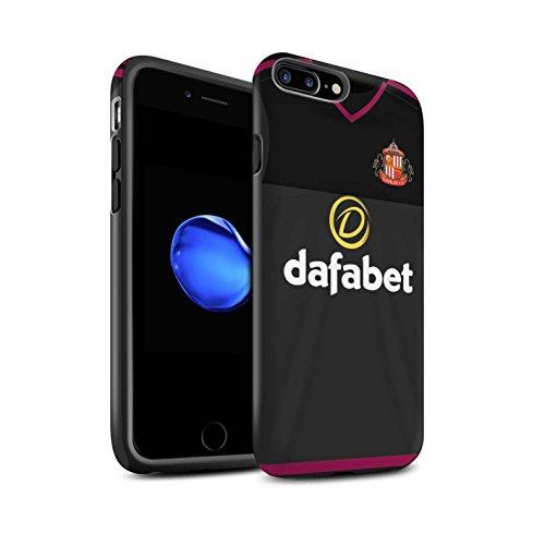 Officiel Sunderland AFC Coque / Matte Robuste Antichoc Etui pour Apple iPhone 7 Plus / Khazri Design / SAFC Maillot Extérieur 15/16 Collection Gardien But