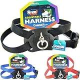 Coastal Pet Size Right Adjustable Harness - Dog Harness - Blue - Girth 18