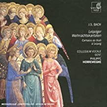 Bach : Cantates de Noël à Leipzig BWV 63, 91, 12, 133 (SACD)