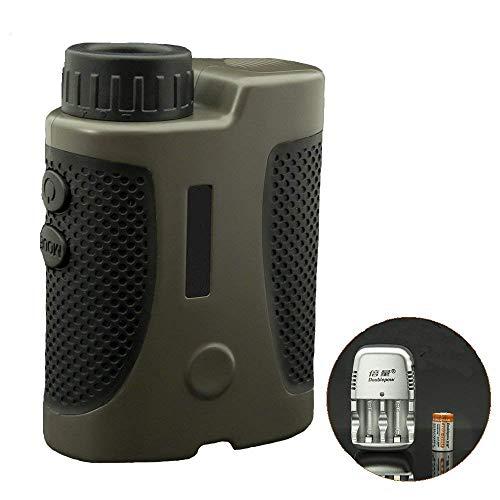 Telemetro Rangefinder 500-1200m Golf Range Finder Laser Finder ingrandimento Super Leggero, Precisione ±1m, per Golf Sport