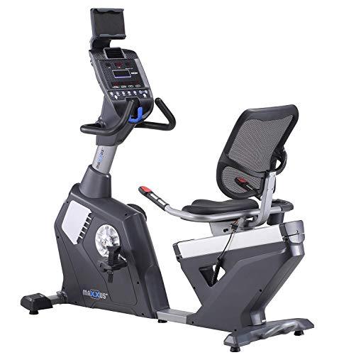 MAXXUS Liegeergometer Bike 90 Pro - Halb-Liegeergometer - Heimtrainer in Studio Qualität für das Cardio-Training zuhause - leise und gelenkschonend - individuell einstellbar