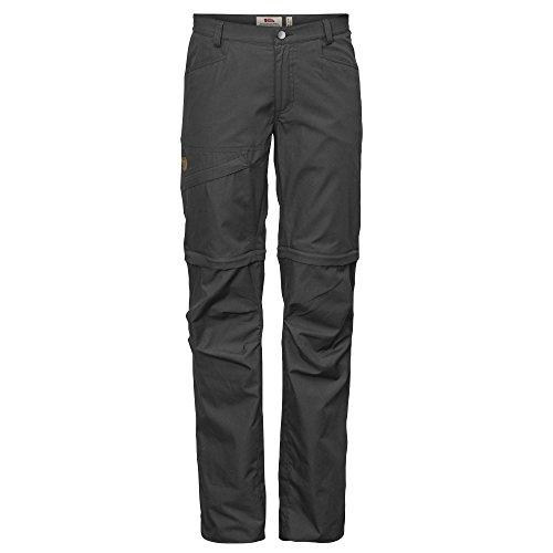 FJÄLLRÄVEN Damen Daloa Shade Zip-Off Trousers W, Dark Grey, 46