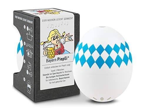 Brainstream Bayern PiepEi, Eieruhr zum mitkochen, Spielt 3 Melodien für 3 Härtegrade, A003561
