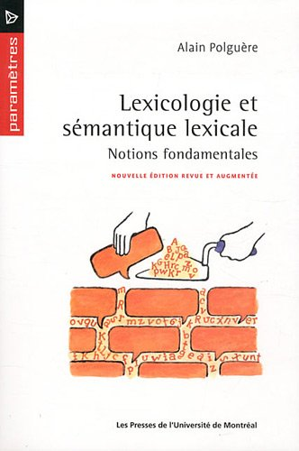 Lexicologie et smantique lexicale : Notions fondamentales