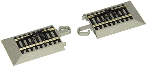 Bachman Trains Snap-Fit E-Z Track Hayes Bumpers (2/Carte)