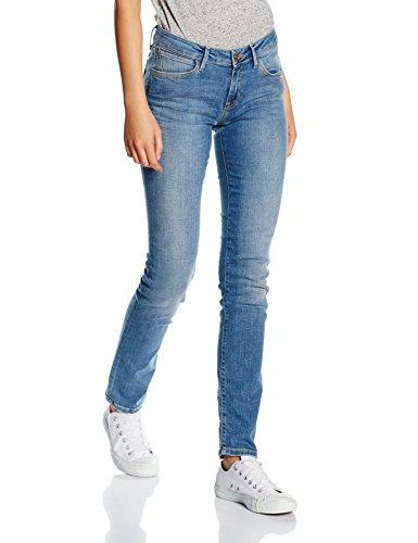 Cross Elsa, Skinny Jeans Donna Blau (mid blue 012)
