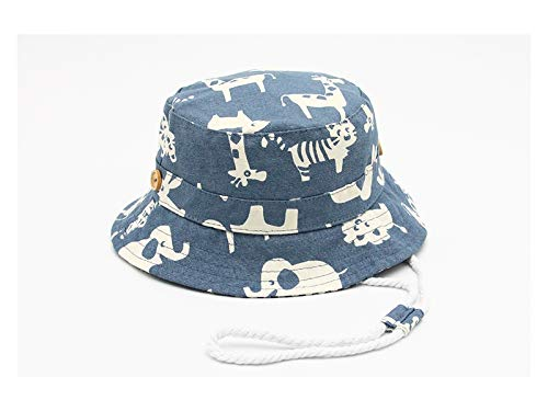 Gorra para niños pequeños Niños Animal Print Bucket Hat Niños Sun Visor  Packable Soft Wind Cap 9a5ff1118312