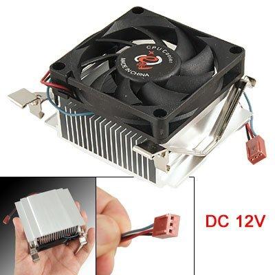 DealMux Computer-Kühlkörper CPU-Kühler Lüfter 3 Pin für Intel Sockel 478 P4 (Cpu-lüfter Sockel 478)