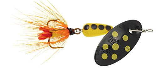 Panther Martin Serie Nature Punkten Fly Dressed Angeln Spinner pmspf _ 2_ by Nature Serie Fly Dressed Angeln Spinner schwarz/gelb gepunktet, Schwarz Gelb -