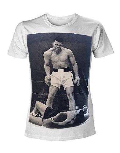 Muhammad Ali Knock-Out Shout T-Shirt weiß Weiß