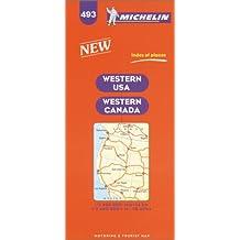 Carte routière : U.S.A. Western, N° 493