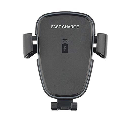 Nourich Gravity Air Vent Handyhalter 10W Qi Wireless Car Charger Halterung für iPhone XS MAX/X / 8/8 Plus, Intelligente Schnellladung für Samsung Galaxy/Huawei/Xiaomi/Oppo/VIVO ect (Samsung Series 9 Charger)