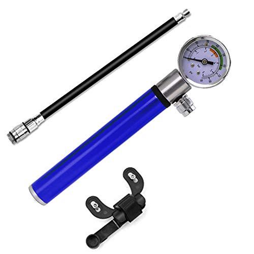 Geapy Hochdruck Analog Mountainbike Luftfederung Stoßdämpferpumpe Tragbare Mini Luftpumpe